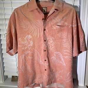 Jamaica Jazz silk casual short sleeve island L